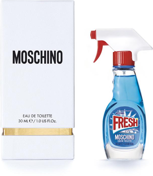 Moschino Fresh Туалетная вода спрей, 30 мл6R28Концепция этого аромата - совместить самое привычное и обыденное, скажем, моющее средство, с чем-то очень элегантным - ароматом роскошного бренда. Идея о том, чтобы использовать банальную бутылку, не представляющую никакой ценности, в качестве флакона для драгоценного содержимого, создает максимальный контраст между повседневным и изысканным. Это и есть настоящий стиль Moschino.Краткий гид по парфюмерии: виды, ноты, ароматы, советы по выбору. Статья OZON Гид