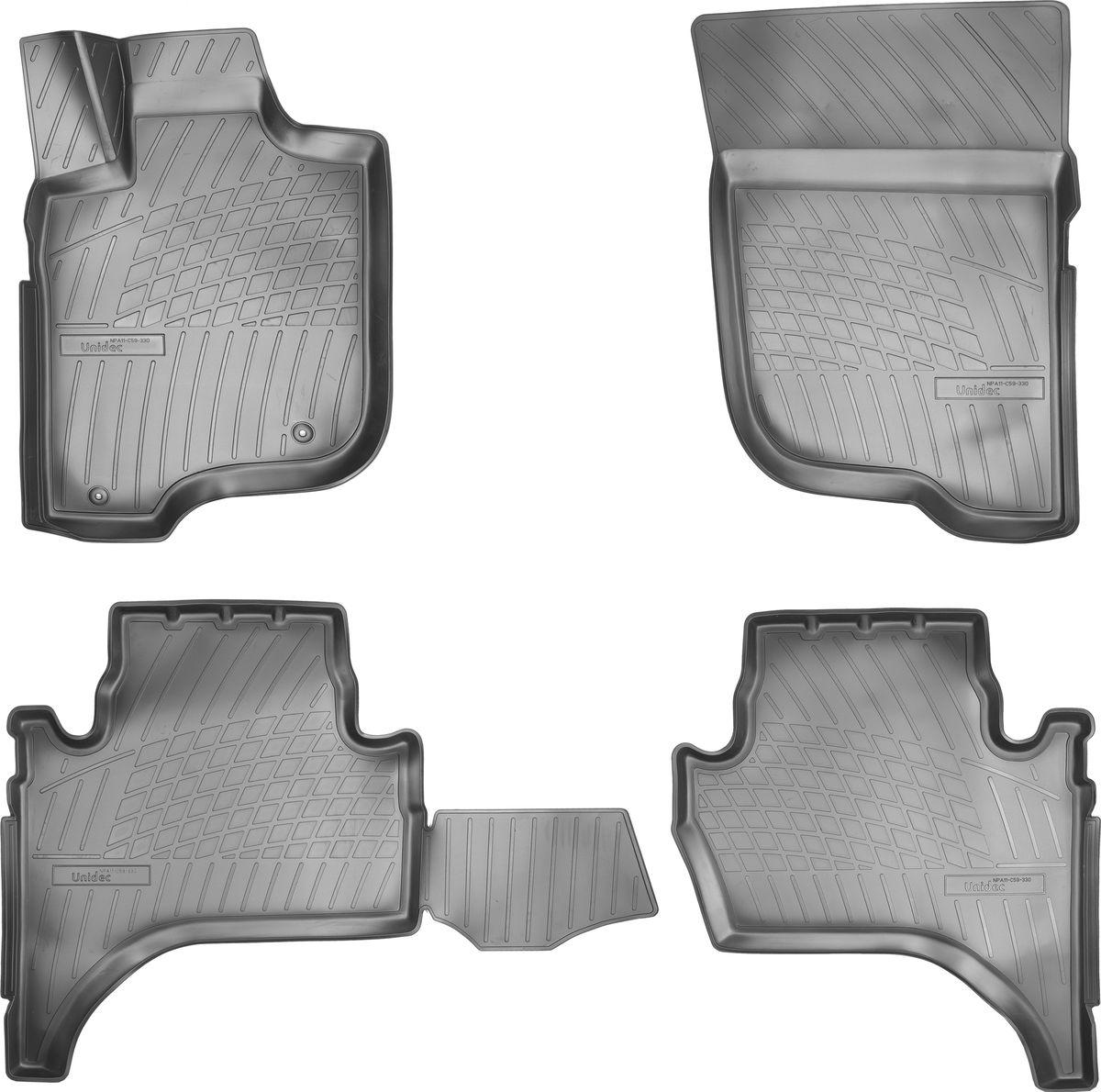 """Ковры автомобильные """"NorPlast"""", в салон, для Mitsubishi L200, 2007-"""