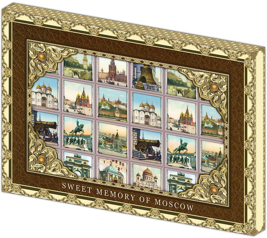 Дилан+ Шоколадный набор Москва Старинная, 24 шт по 5 г дилан шоколадный набор ангела хранителя розовый 6 шт по 5 г