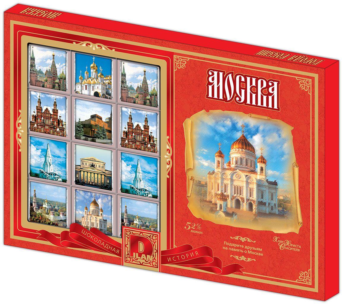 Дилан+ Шоколадный набор Москва Современная, 24 шт по 5 г дилан шоколадный набор ангела хранителя розовый 6 шт по 5 г