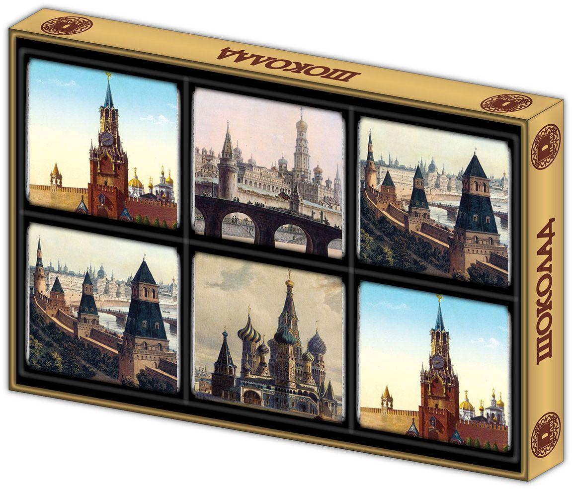 Дилан+ Шоколадный набор Москва старинная, 6 шт по 10 г дилан шоколадный набор москва 6 шт по 5 г