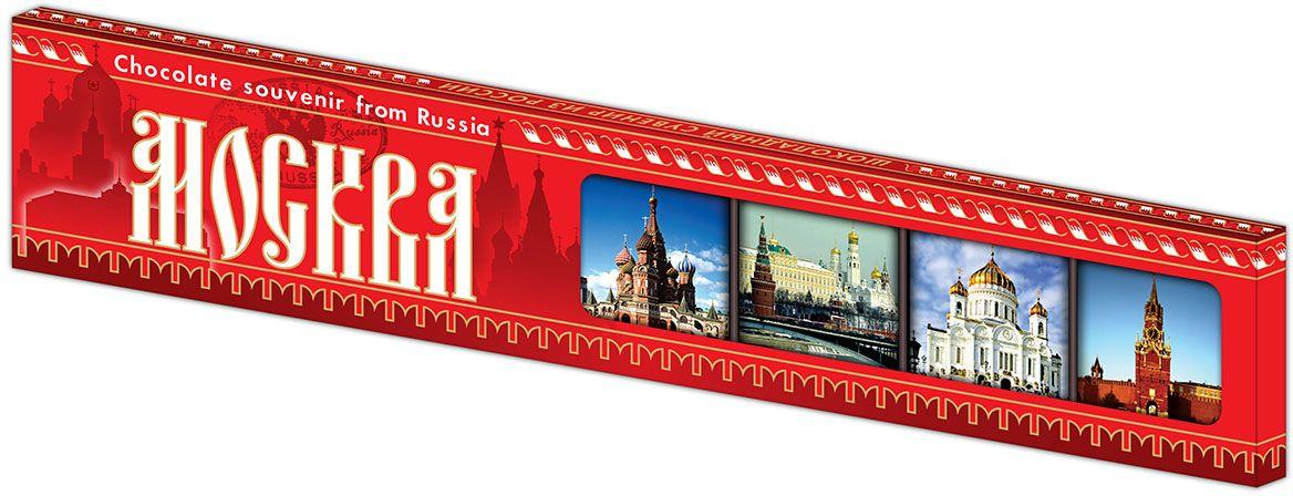 Дилан+ Шоколадный набор Москва Современная, 7 шт по 10 г lorado томаты маринованные 720 мл