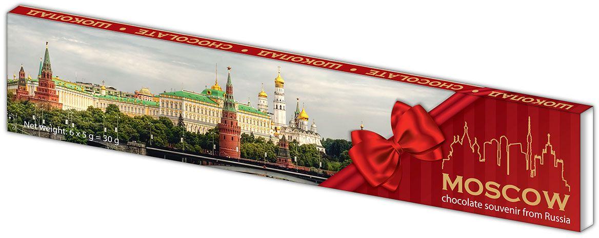 Дилан+ Шоколадный набор Москва, 6 шт по 5 г karl fazer julia конфеты темный шоколад с ананасово абрикосовым мармеладом 350 г