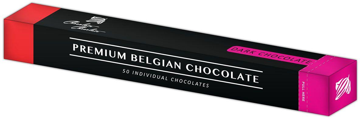 Дилан+ Шоколадный набор Пенал - Темный, 50 шт по 5 г плакат a2 42x59 printio череп весёлый арт
