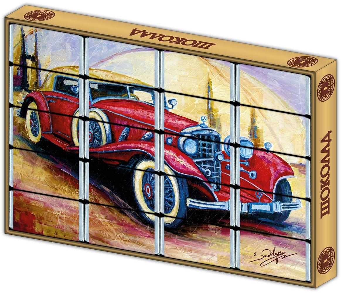 Дилан+ Шоколадный набор с раскраской Машина, 20 шт по 5 г дилан шоколадный набор санкт петербург современный 20 шт по 5 г