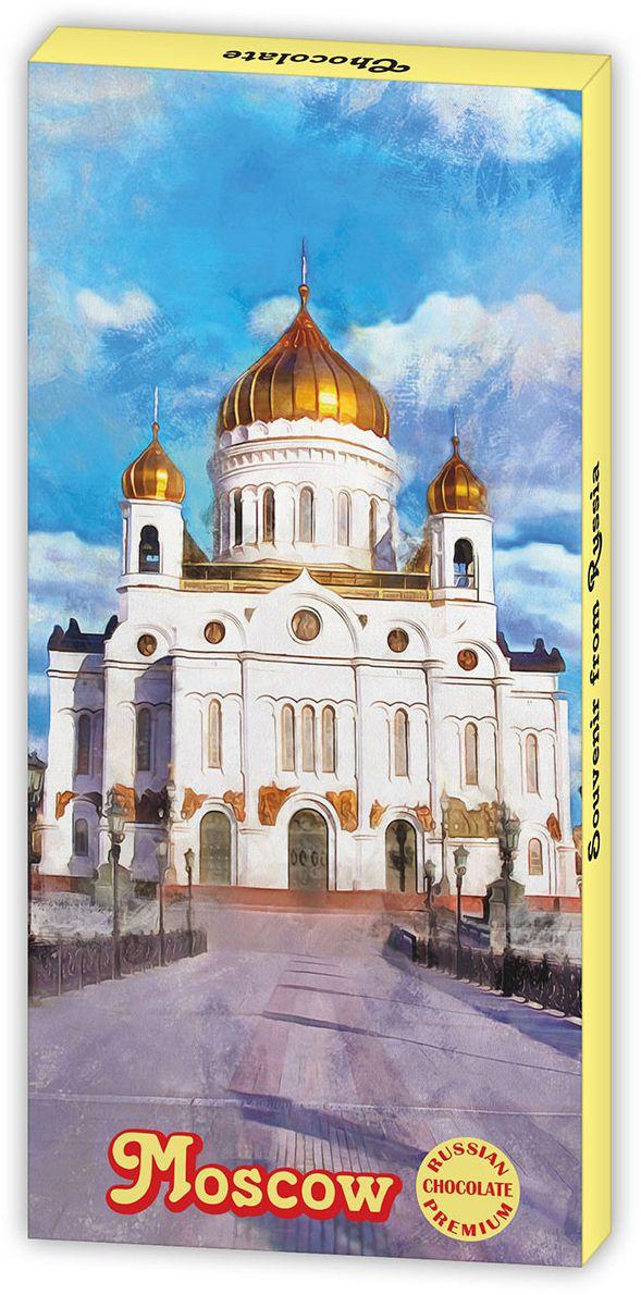 Дилан+ Шоколадный набор Moskow Храм Христа Спасителя, 12 шт по 5 г дилан шоколадный набор ангела хранителя розовый 6 шт по 5 г