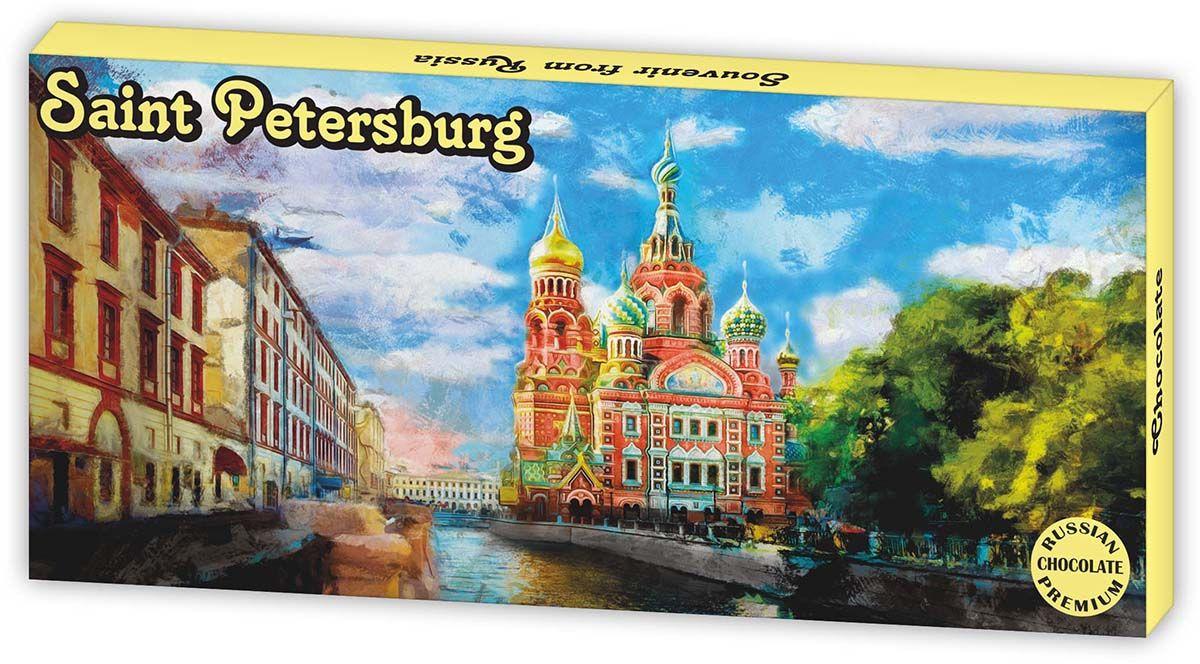 Дилан+ Шоколадный набор Санкт-Петербург Храм Спаса на Крови, 12 шт по 5 г дилан шоколадный набор санкт петербург современный 20 шт по 5 г