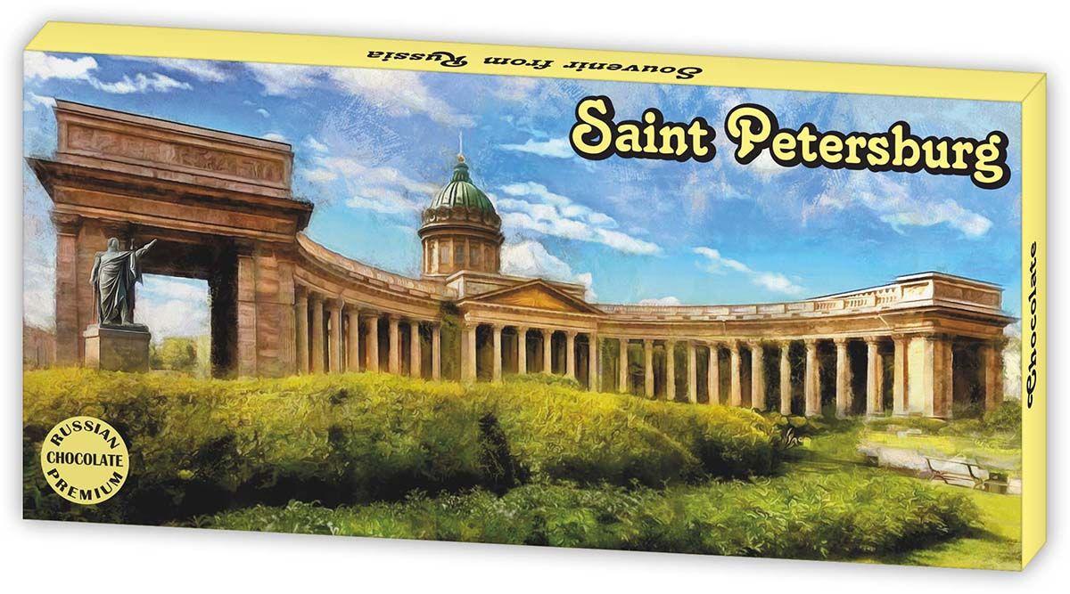 Дилан+ Шоколадный набор Санкт-Петербург Казанский Собор, 12 шт по 5 г дилан шоколадный набор санкт петербург современный 20 шт по 5 г