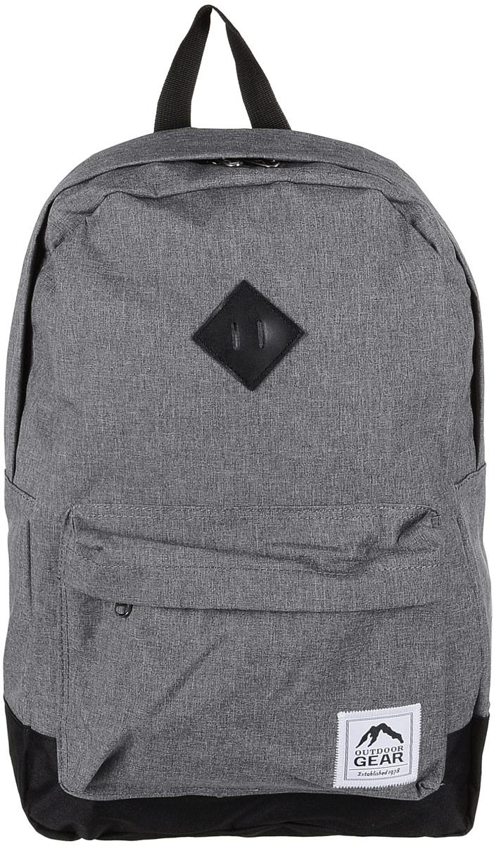 Рюкзак городской Outdoor Gear, цвет: серый, черный. 8113 рюкзак conway kangwei 2011 621042