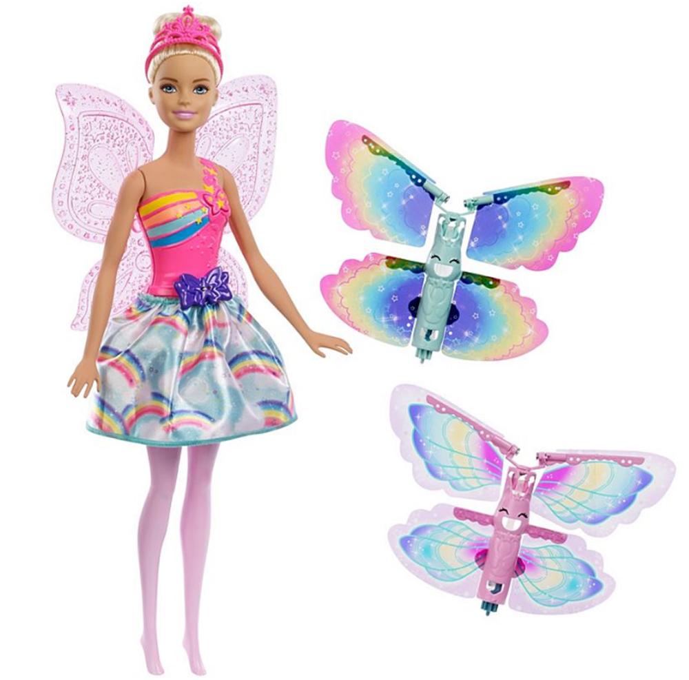Barbie Кукла Фея с летающими крыльями барби barbie barbie кукла barbie фея с летающими крыльями