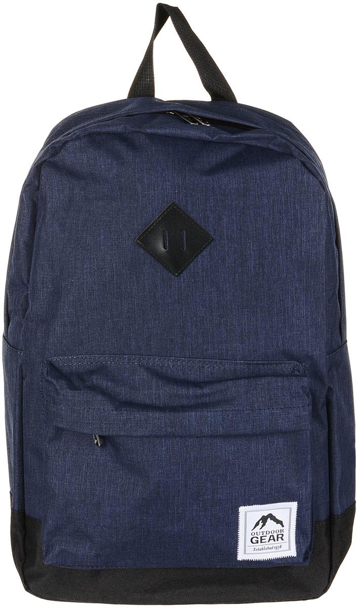 Рюкзак городской Outdoor Gear, цвет: синий, черный. 8113 рюкзак conway kangwei 2011 621042