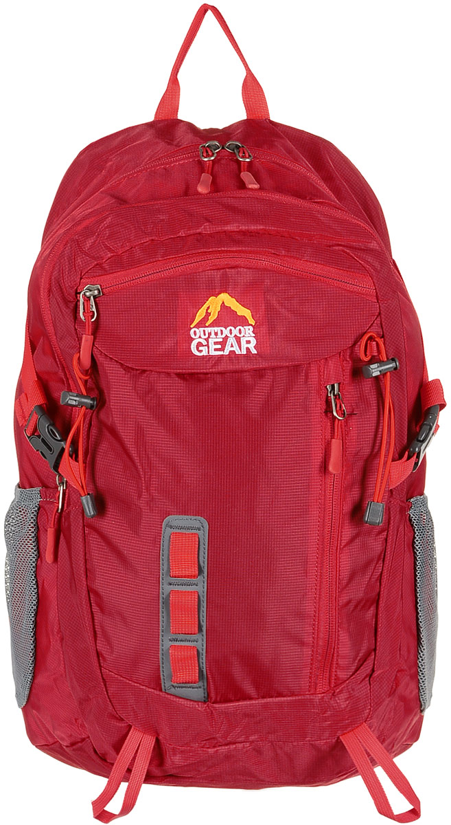 Рюкзак городской Outdoor Gear, цвет: красный. 2211 ostin рюкзак с двумя карманами
