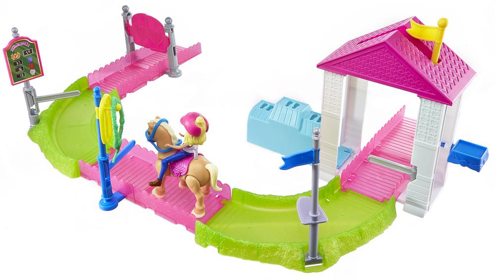 Barbie Игровой набор с куклой В движении Скачки barbie набор сестра барби с питомцем barbie dmb26