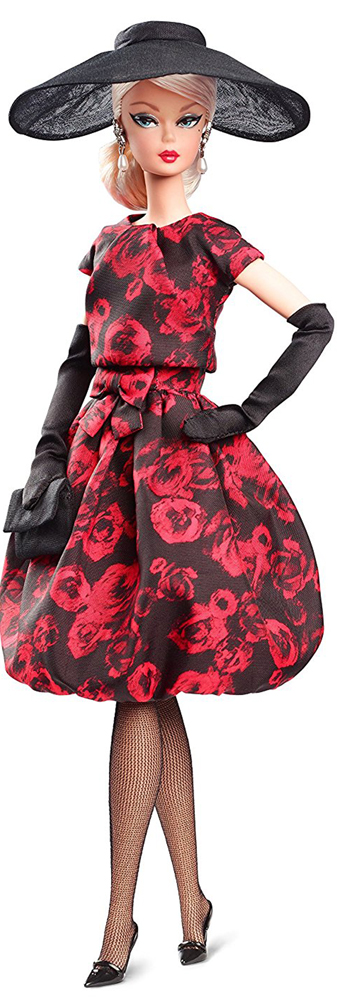 Barbie Коллекционная кукла Elegant Rose Cocktail Dress кукла barbie в космическом платье