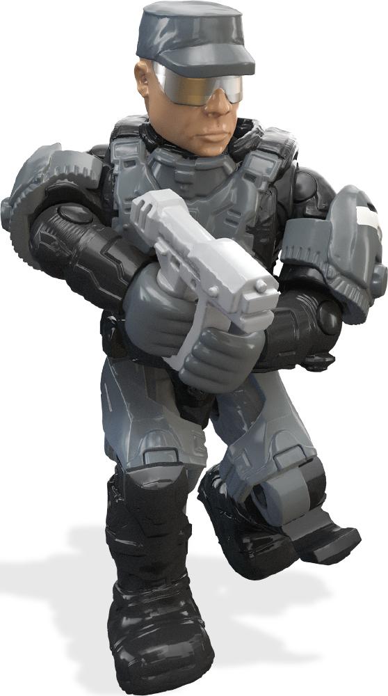 Mega Bloks/Mega Construx Фигурка Halo Боевая команда halo mega bloks police mini figure
