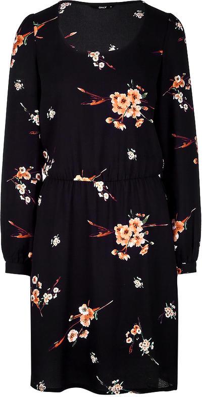 Платье Only, цвет: черный. 15153099. Размер 38 (44)15153099