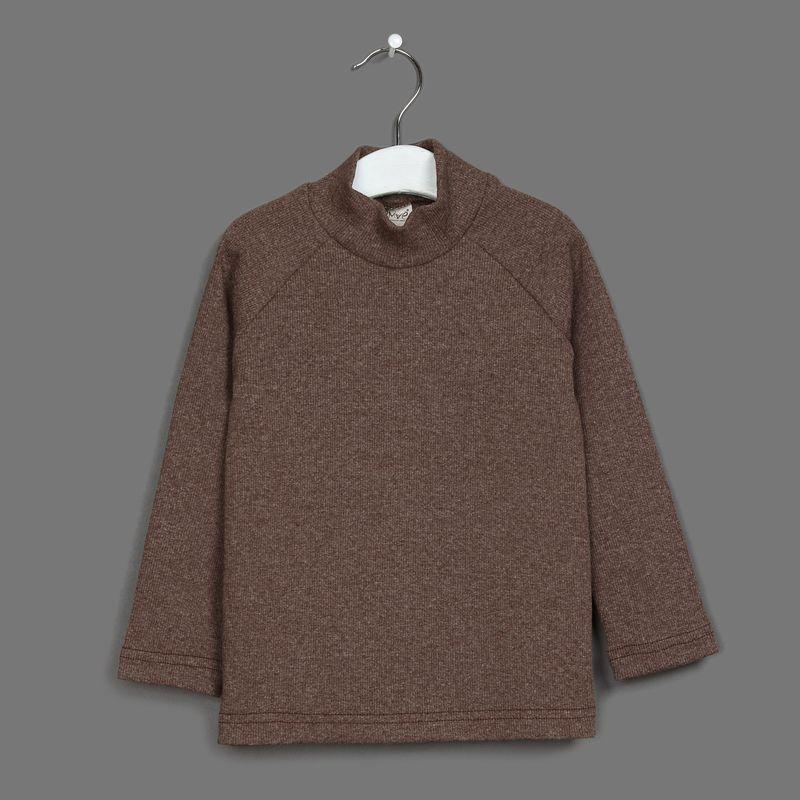 Водолазка для мальчика Ёмаё, цвет: коричневый. 20-600. Размер 9820-600Водолазка от Ёмаё.