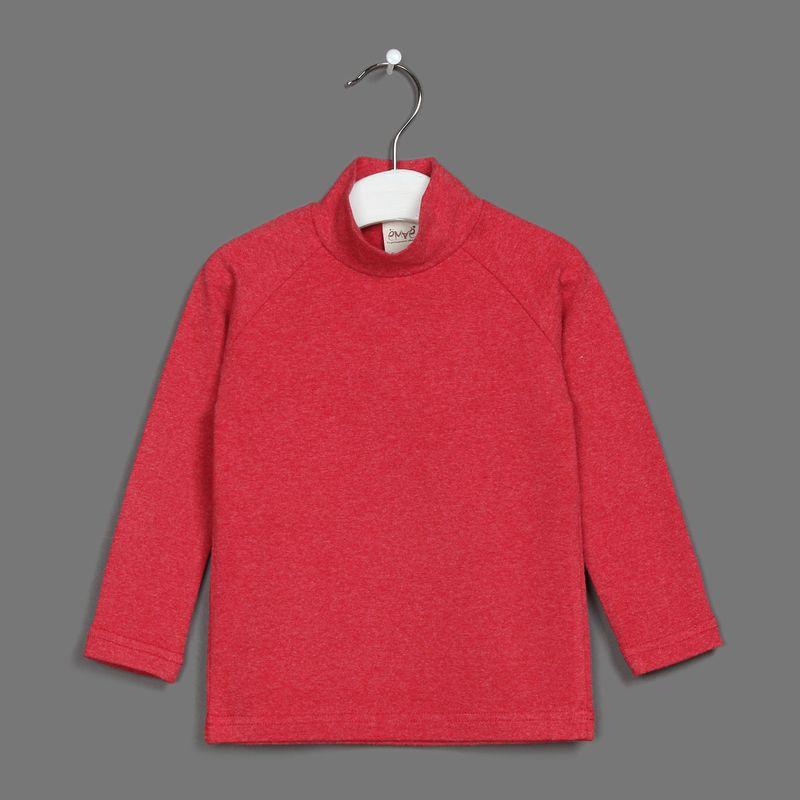 Водолазка для мальчика Ёмаё, цвет: красный. 20-100. Размер 9220-100Водолазка от Ёмаё.
