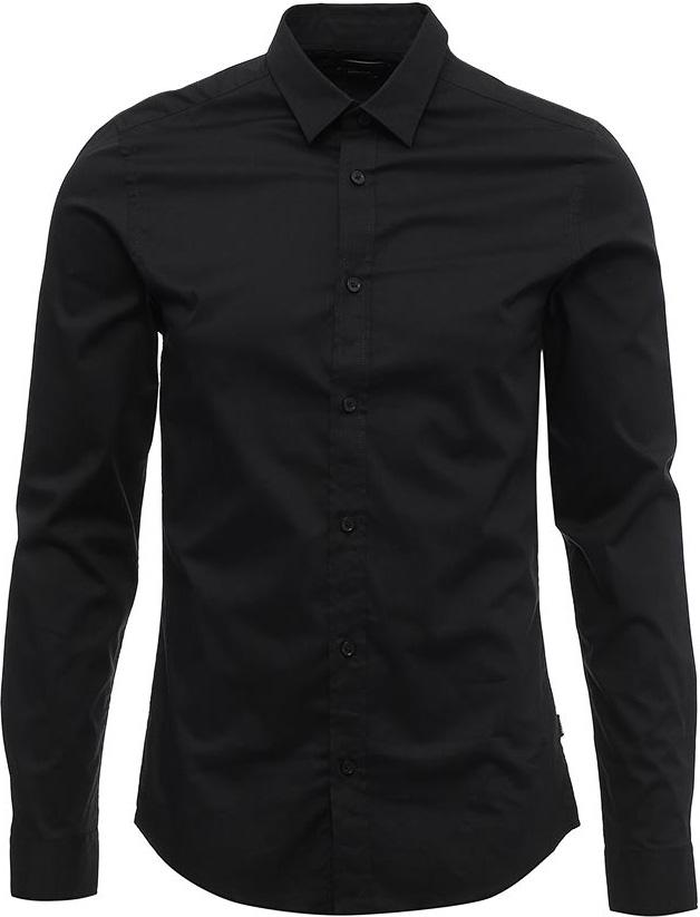 Купить Рубашка мужская Only & Sons, цвет: черный. 22007080. Размер M (48)