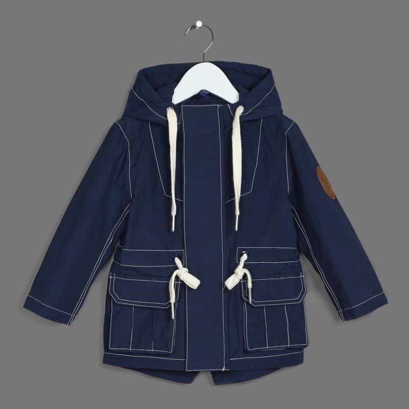Куртка для мальчика Ёмаё, цвет: синий. 39-119. Размер 12839-119Ткань верха: курточная ткань 60% хлопок, 40% полиэстер; подкладка - 100; полиэстер (сетка)