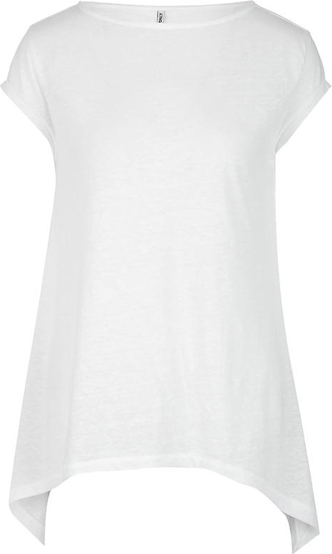 Футболка женская Only, цвет: белый. 15153568. Размер L (46)15153568