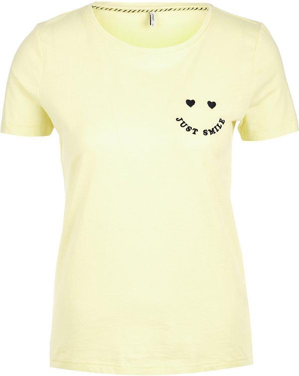 Футболка женская Only, цвет: желтый. 15150915. Размер M (44) bosidin ipl only