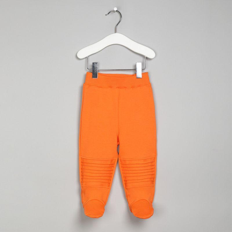 Ползунки Ёмаё, цвет: оранжевый. 26-291. Размер 80 брюки джинсы и штанишки ёмаё ползунки для мальчика ватсон 26 290