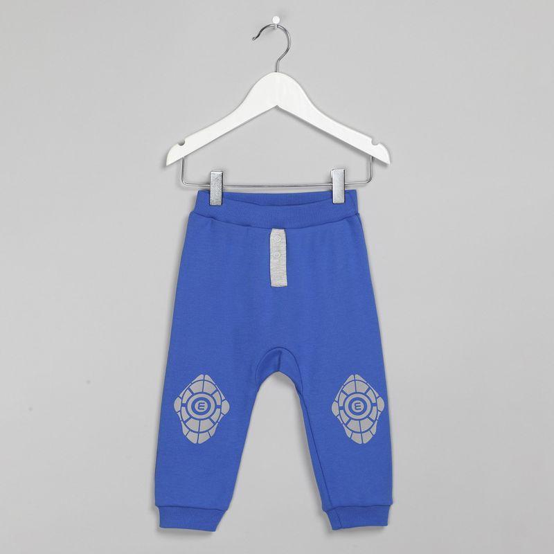 Штанишки Ёмаё, цвет: синий. 26-286. Размер 86 брюки джинсы и штанишки ёмаё ползунки для мальчика ватсон 26 290