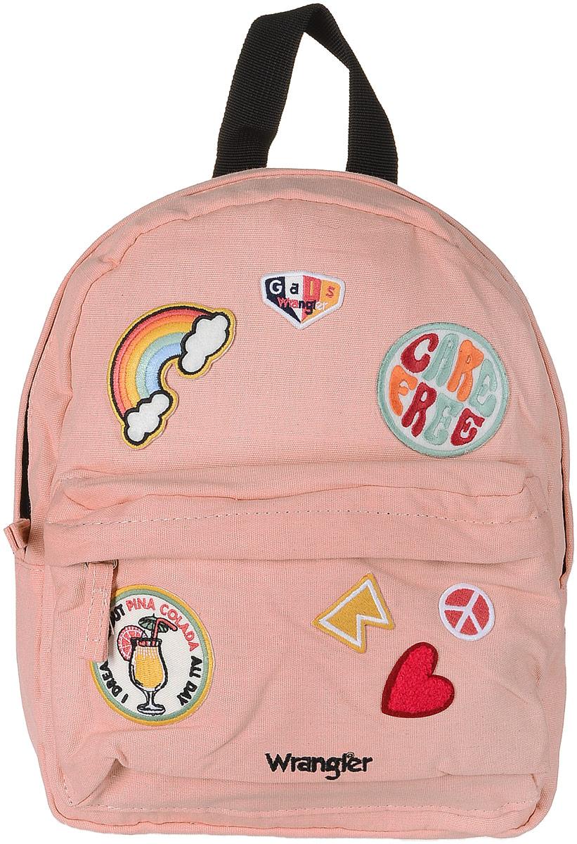 Рюкзак женский Wrangler, цвет: розовый. W0Y05UIUD_00