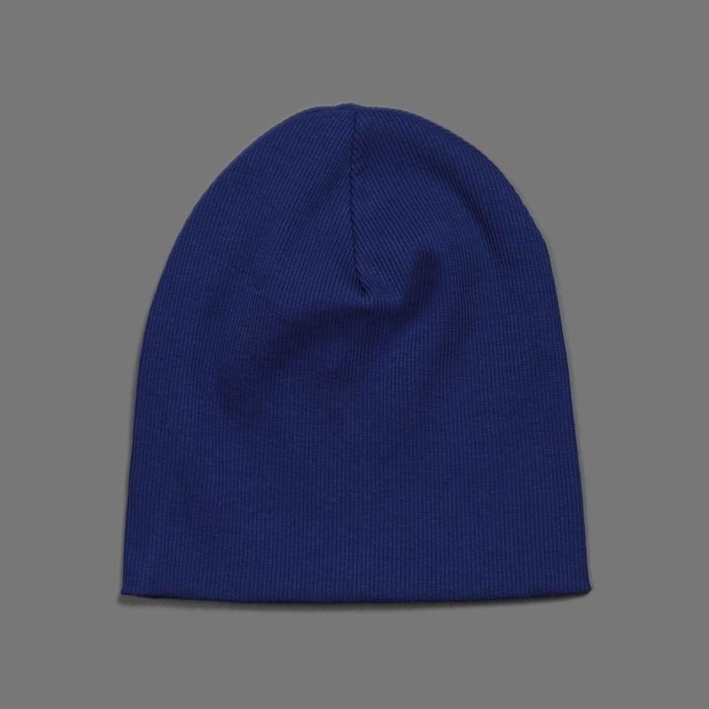 Шапка для мальчика Ёмаё, цвет: синий. 45-106. Размер 4645-106Удобная шапочка от Ёмаё для вашего малыша. Выполнена из однотонного хлопкового полотна.