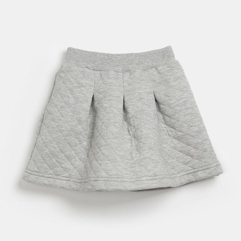 Юбка для девочки Ёмаё, цвет: серый. 35-801. Размер 128 платье для девочки ёмаё цвет белый оранжевый 12 503 размер 128