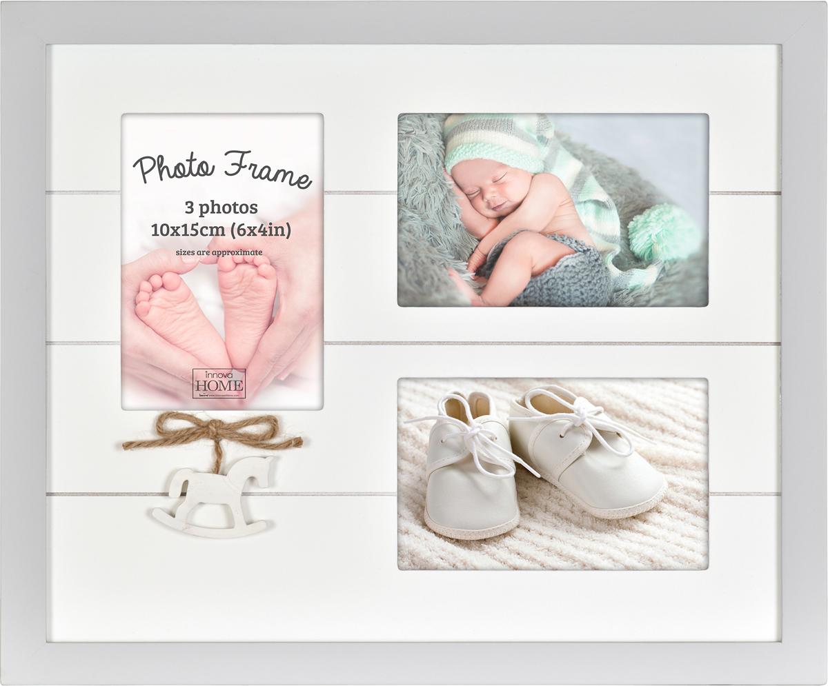 Фоторамка Innova Baby Amore, на 3 фото, 10 х 15 смPI07390