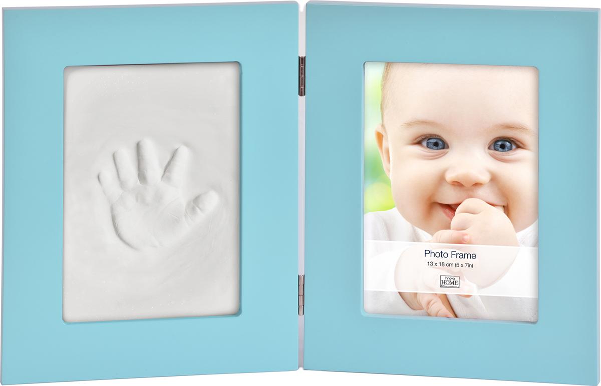 Фоторамка Innova Baby Keepsake, с набором для лепки, 13 х 18 см. PI07886PI07886