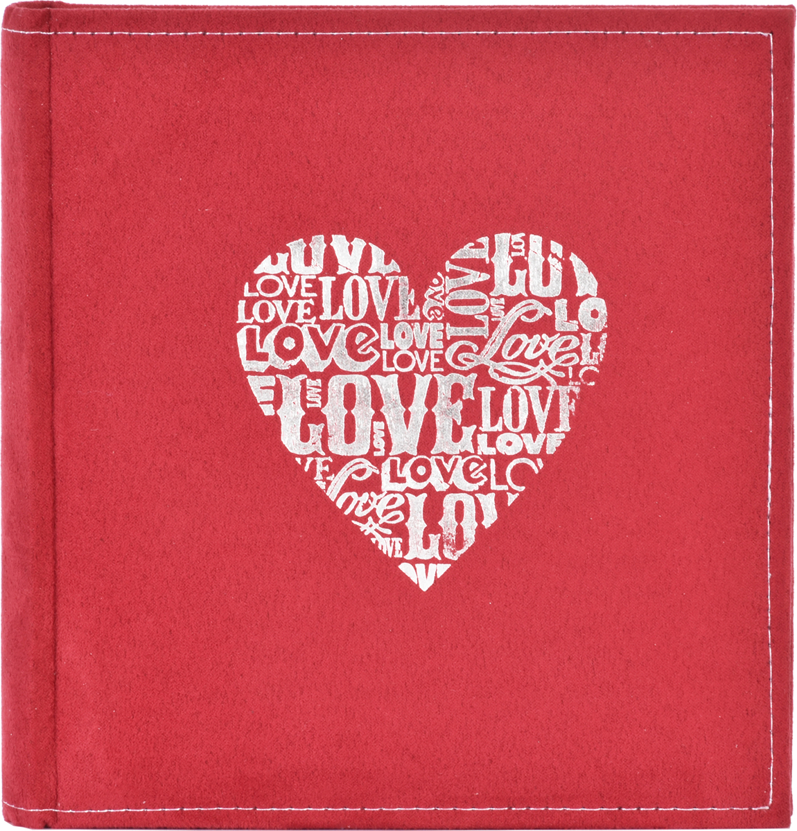 Фотоальбом Innova Suedette Heart Bookbound, 200 фотографий, 10 х 15 смQ8908444