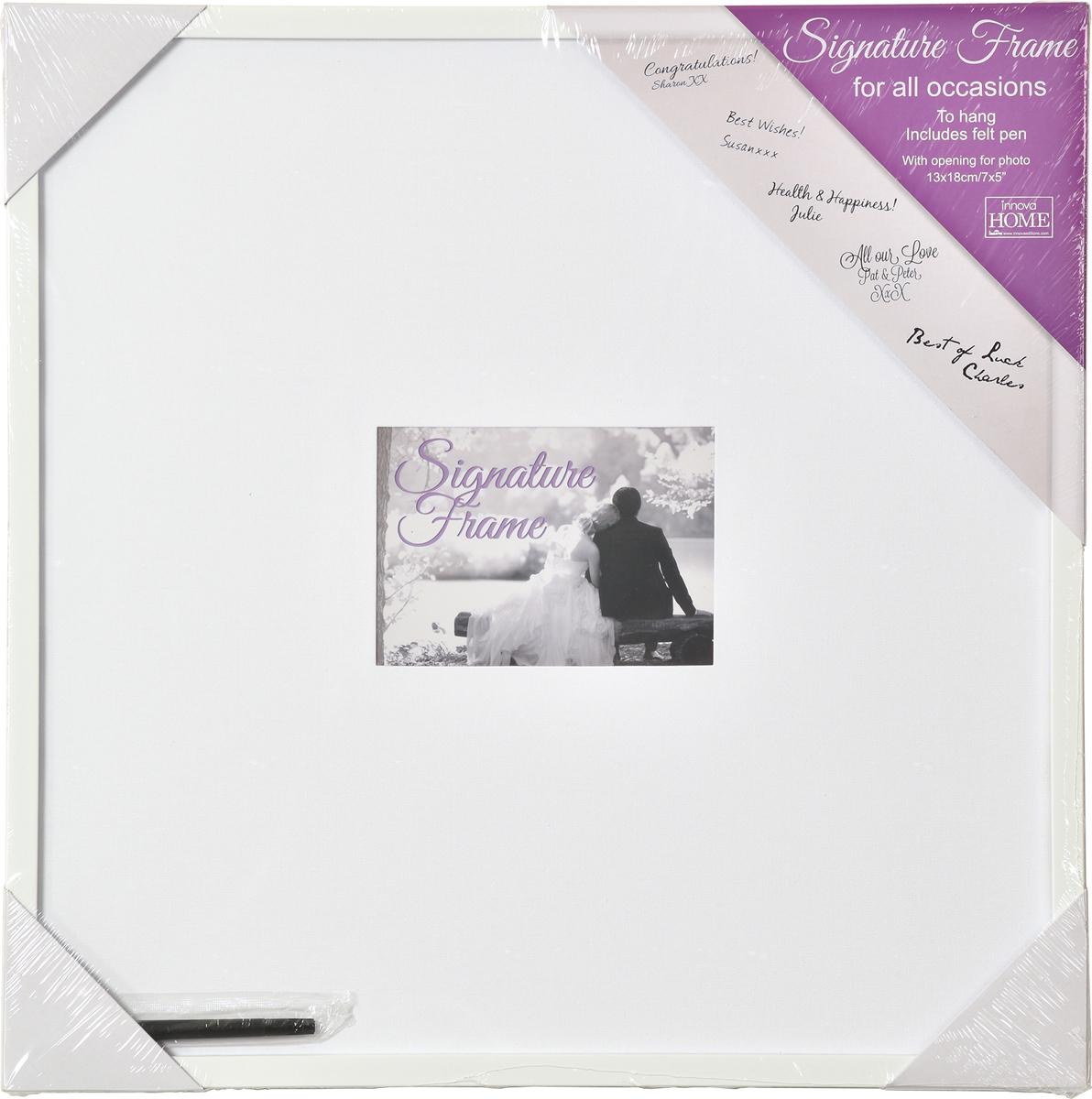 Доска для пожеланий Innova Wedding Signature Frame, с фоторамкой, 54 х 54 смPI07376