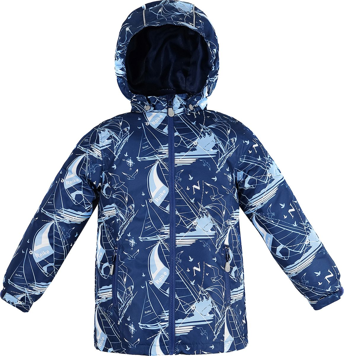 Куртка для мальчика Reike, цвет: темно-синий. 40 900 115_YAHT(FL) navy. Размер 134, 9 лет40 900 115_YAHT(FL) navy