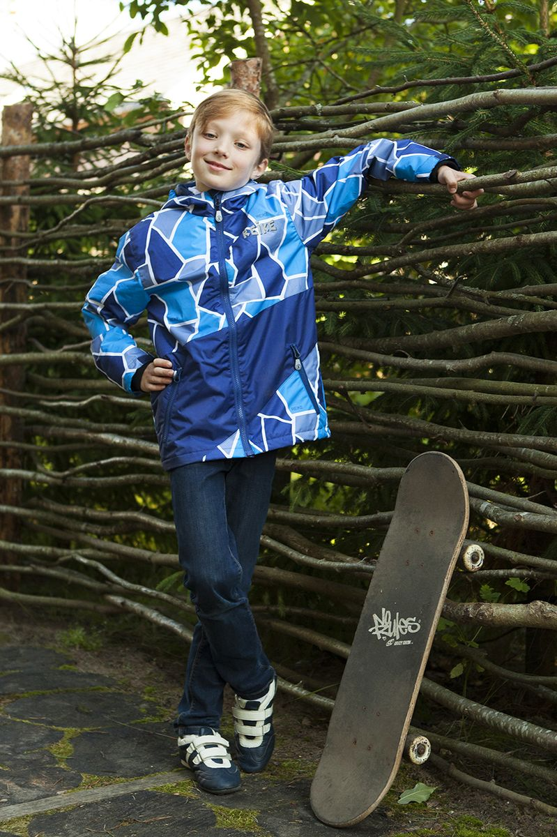 Куртка для мальчика Reike, цвет: темно-синий. 40 725 110_PZL(60) navy. Размер 134, 9 лет40 725 110_PZL(60) navy
