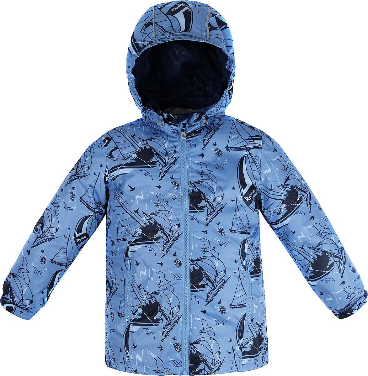 Куртка для мальчика Reike, цвет: синий. 40 900 130_YAHT(FL) blue. Размер 152, 12 лет40 900 130_YAHT(FL) blue