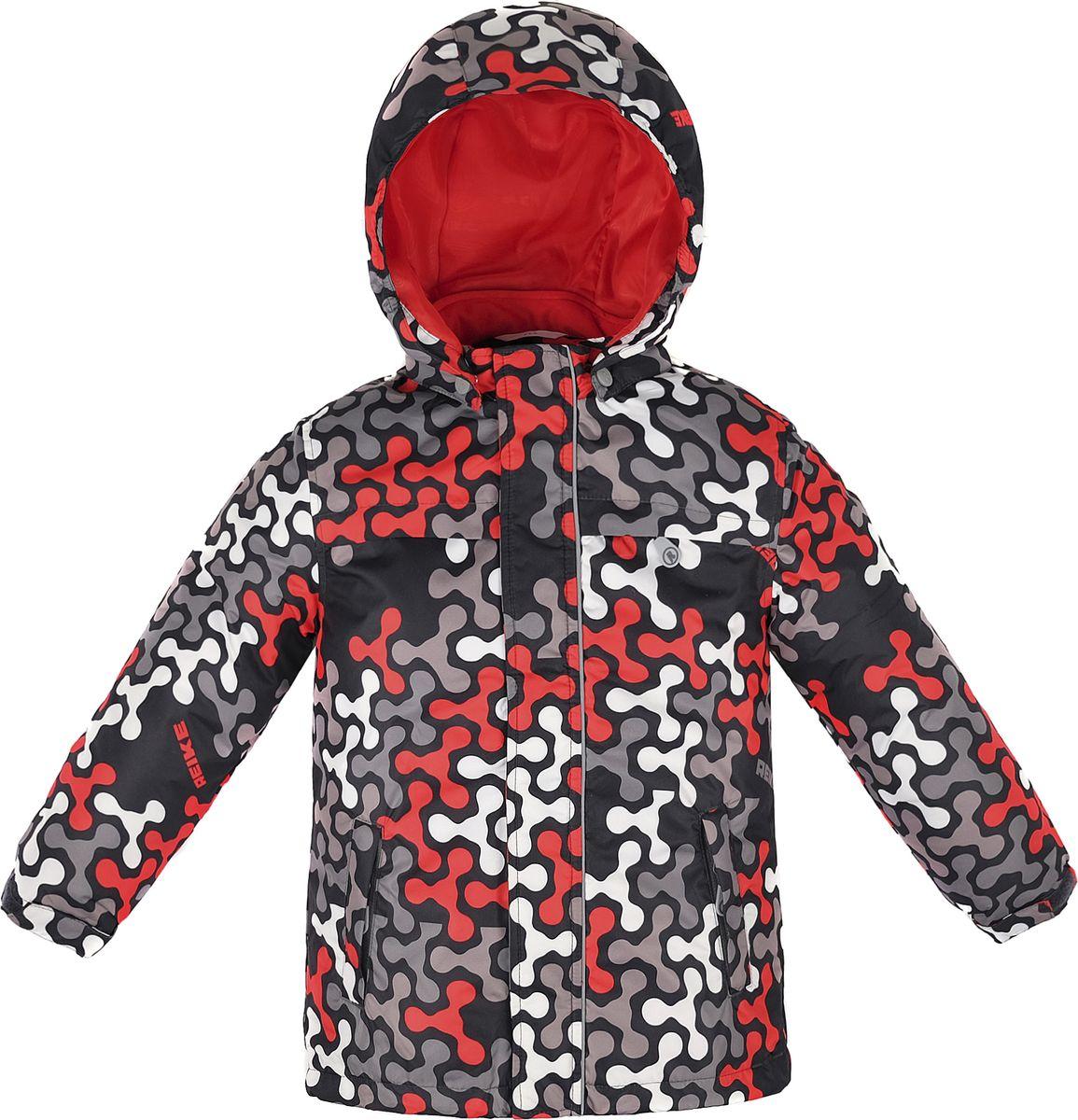 Куртка для мальчика Reike, цвет: красный. 40 895 110_SPN(60) red. Размер 122, 7 лет40 895 110_SPN(60) red