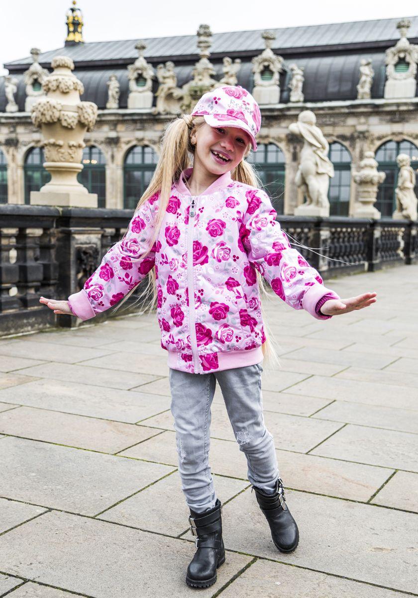 Куртка для девочки Reike, цвет: розовый. 40 870 200_ROS(60) pink. Размер 140, 10 лет40 870 200_ROS(60) pink