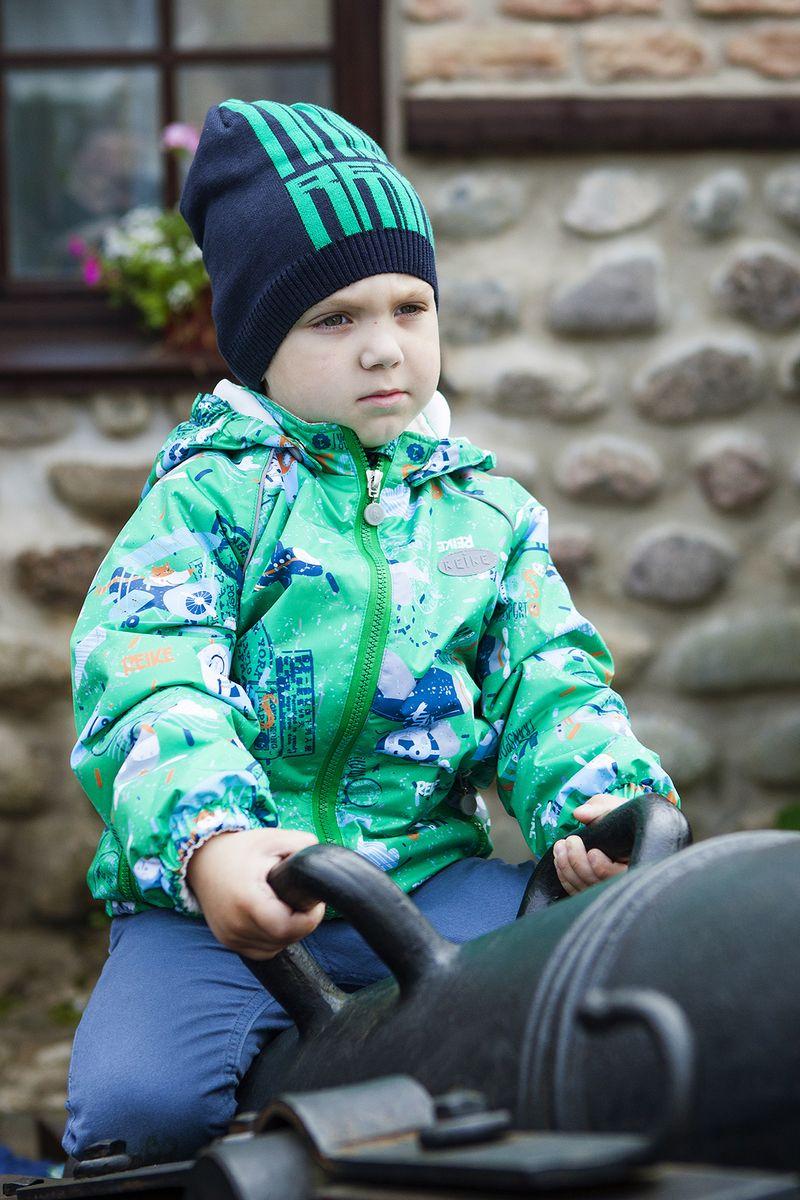 Куртка детская Reike, цвет: зеленый. 40 107 005_TRV(80) green. Размер 86, 18 месяцев40 107 005_TRV(80) green