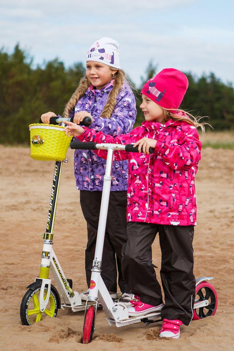 Комплект верхней одежды для девочки Reike: куртка, брюки, цвет: фиолетовый. 40 550 119_PRS(60) violet. Размер 128, 8 лет, Одежда для девочек  - купить со скидкой