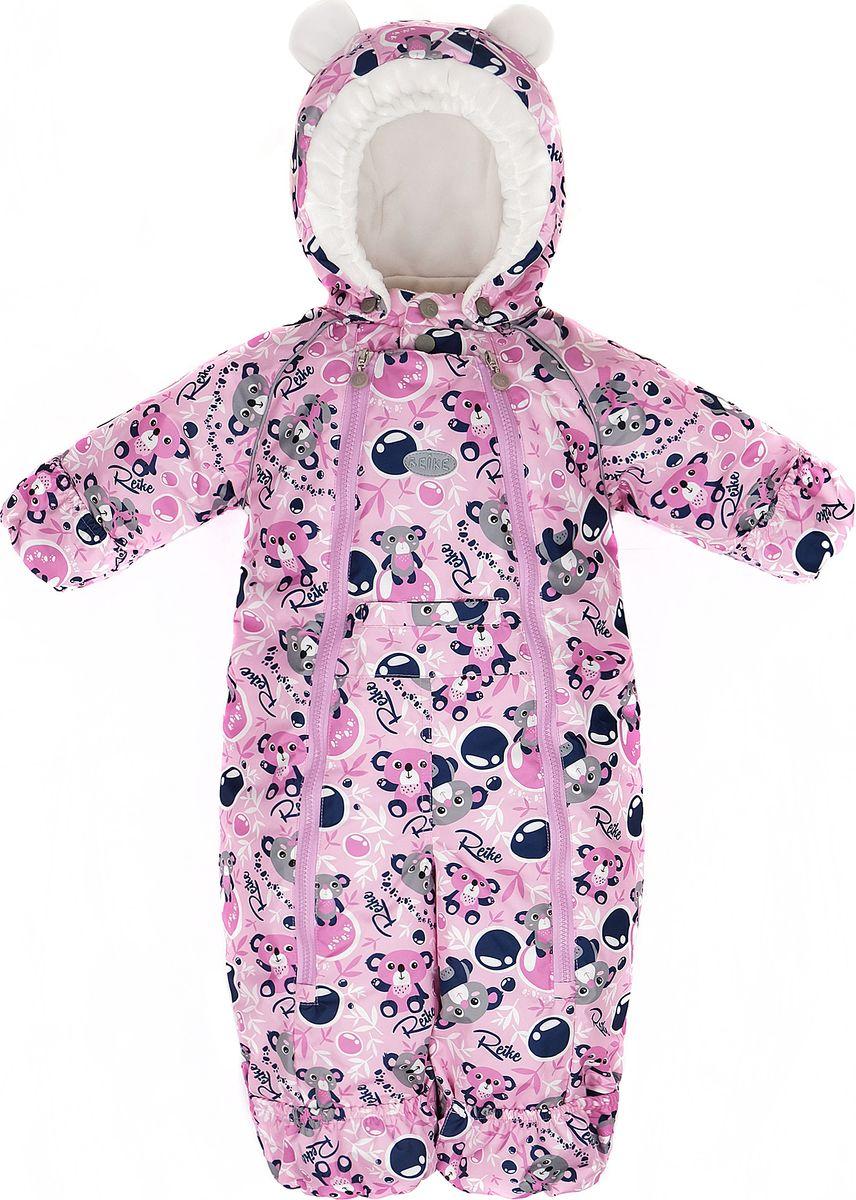 Комбинезон утепленный для девочки Reike, цвет: розовый. 40 155 005_KL(80) pink. Размер 68, 6 месяцев40 155 005_KL(80) pink