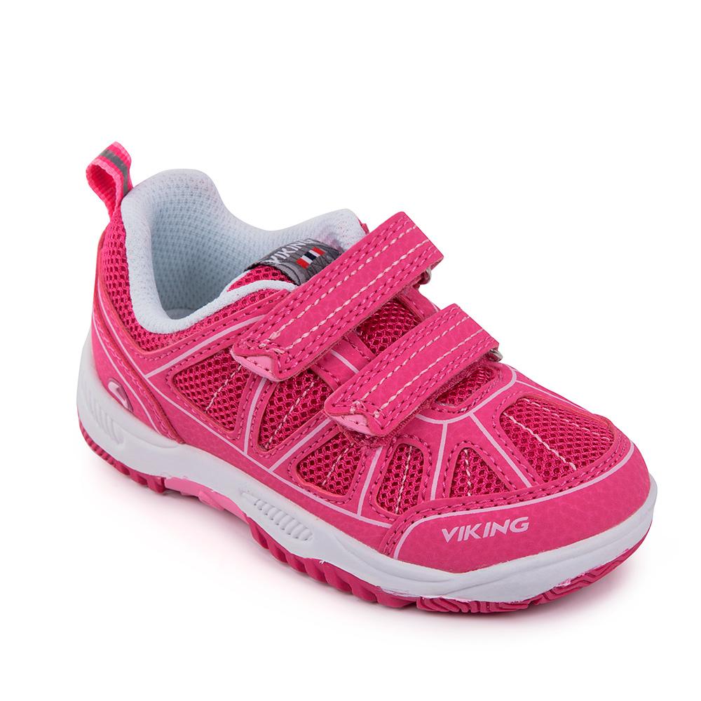 Кроссовки детские Viking Hugin, цвет: розовый. 3-46740-03909. Размер 33