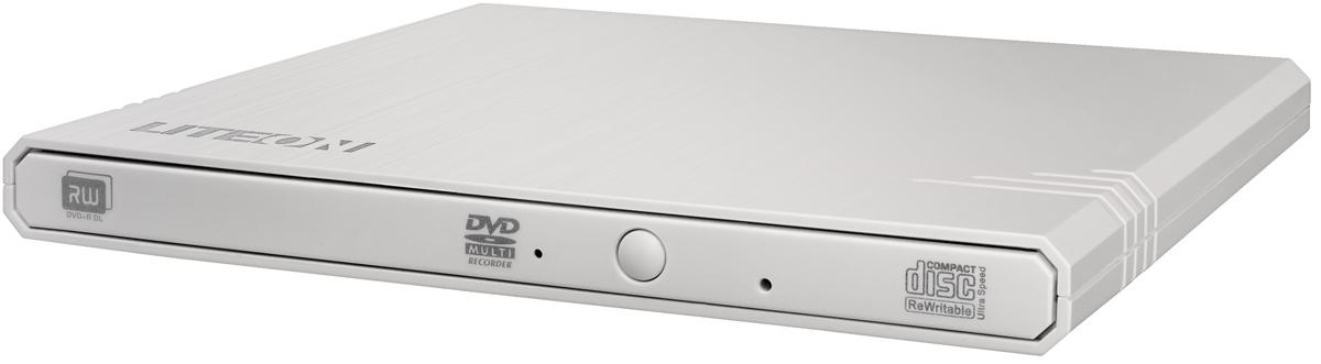 LITE-ON eBAU108-21, White внешний привод DVD-RW