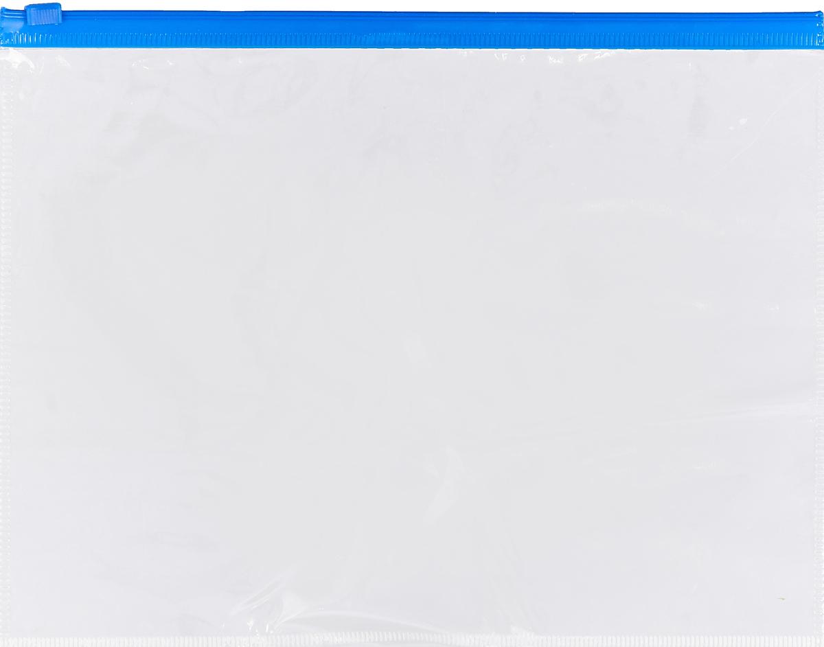Berlingo Папка на молнии формат А5AKm_05109Папка на молнии Berlingo защищает документы от повреждений, пыли и влаги. Удобна для транспортировки и передачи документов. Надежная пластиковая застежка-молния обеспечивает легкий и быстрый доступ к бумагам. Уважаемые клиенты!Обращаем ваше внимание на возможные изменения цвета молнии на папке. Поставка осуществляется в зависимости от наличия на складе.