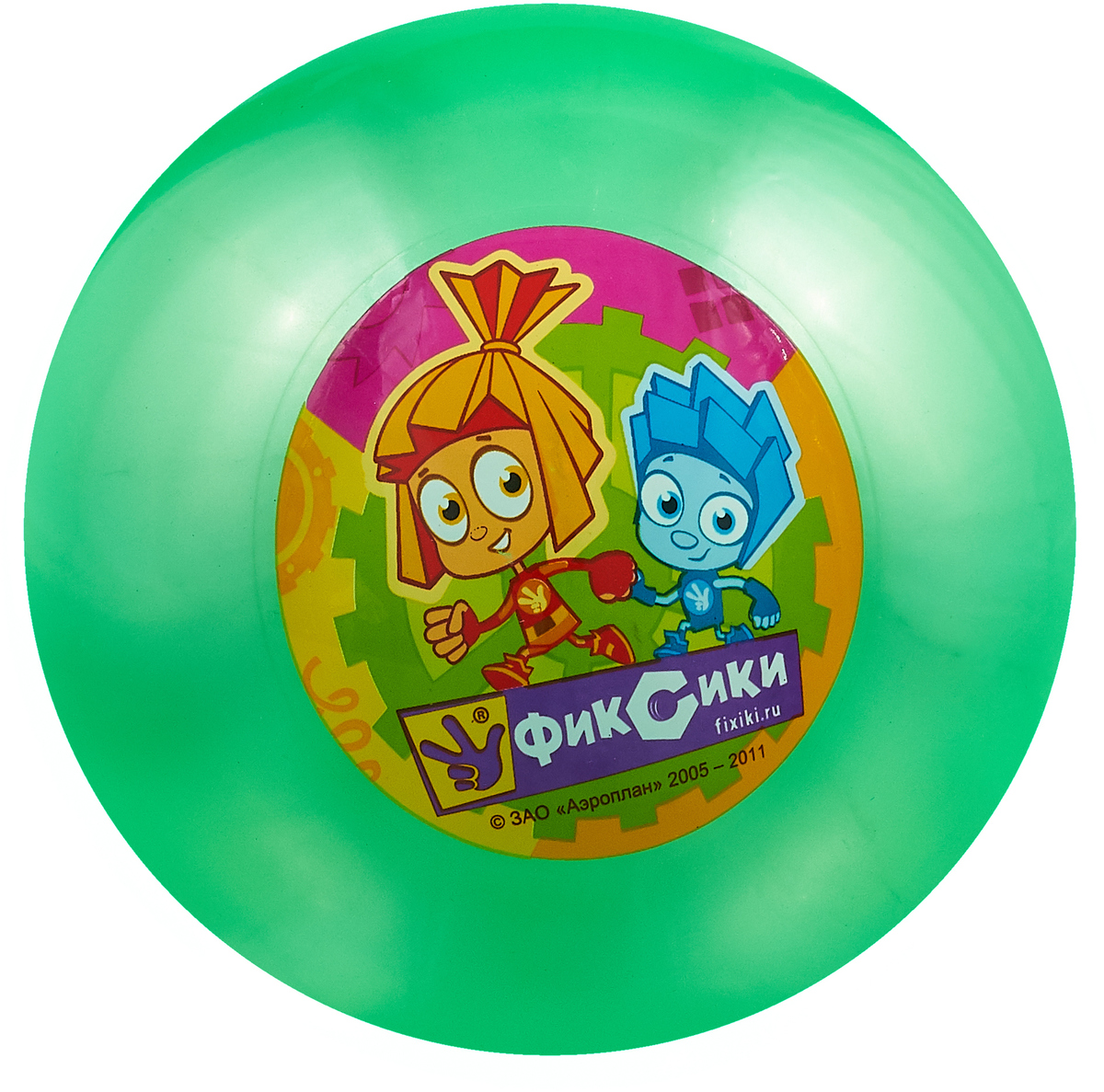 Играем вместе Мяч Фиксики цвет зеленый 23 см