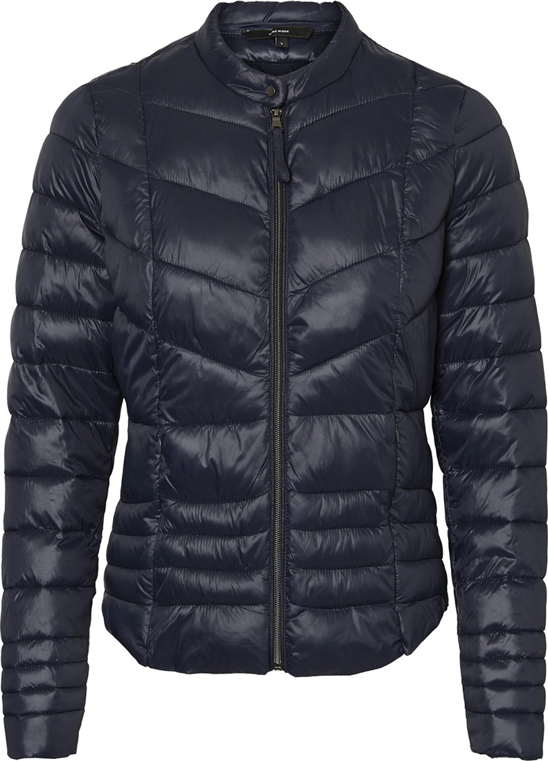 Куртка женская Vero Moda, цвет: синий. 10189401. Размер XS (40) блузка женская vero moda цвет темно синий 10185884 navy blazer размер xs 40 42