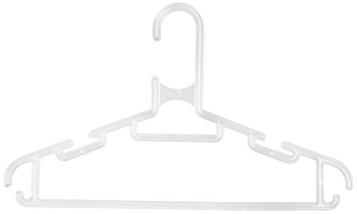 Вешалка для одежды, цвет: белый, длина 27 см щетки для одежды дерево счастья щетка для одежды