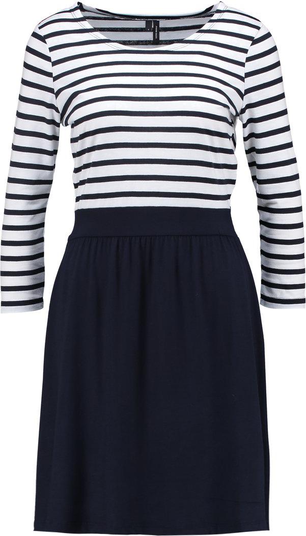 Платье Vero Moda, цвет: черный. 10193574. Размер M (44) платье vero moda цвет черный 10188396 black размер 44 46